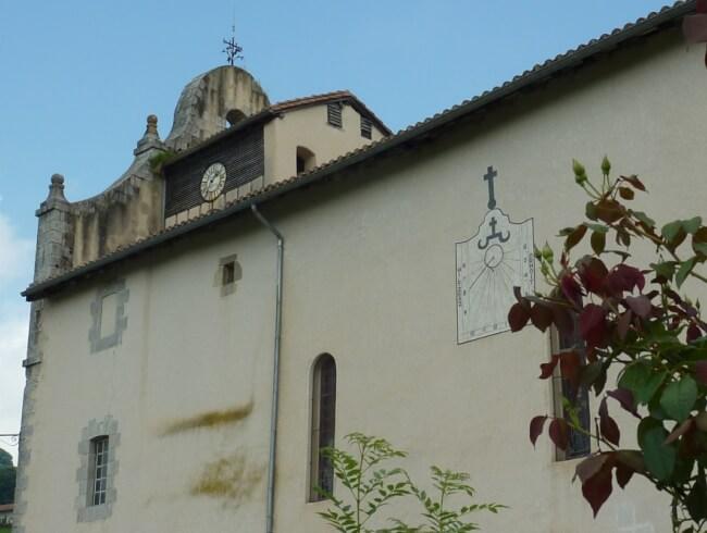 Demain nous fêterons St Cyprien st patron de l'église de Mendionde