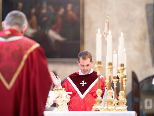 Interview d'un des nouveaux prêtre du diocèse
