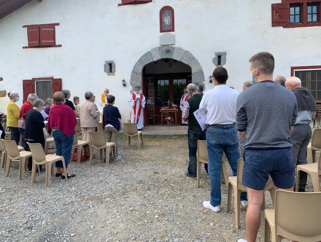 Messe anniversaire BX Francois Dardan à la maison Sarhia