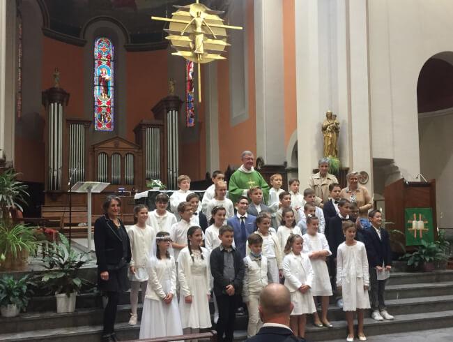 Première communion à Hasparren