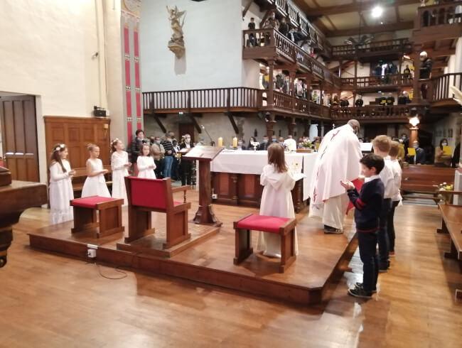 Première Communion Briscous