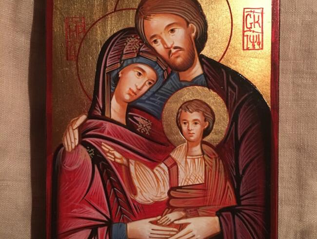 Prière à la Sainte Famille