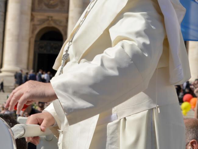 Prière du pape en ce temps de réflexion sur la Création