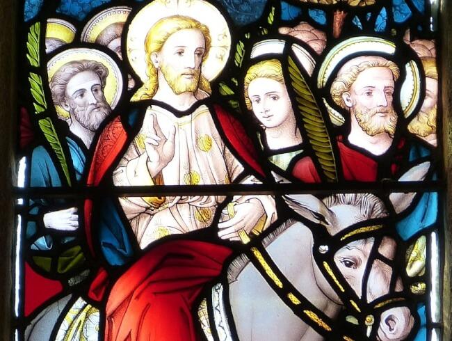 Prière pour le dimanche des rameaux